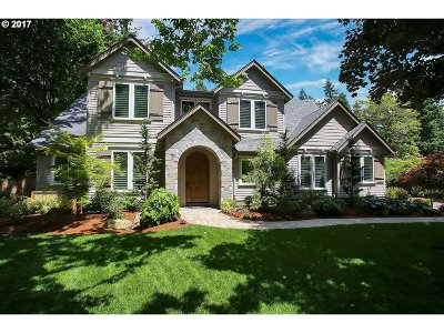 Lake Oswego Single Family Home For Sale: 3519 Lake Grove Ave