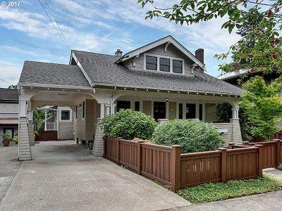 Single Family Home For Sale: 4326 NE Glisan St