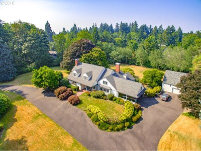 , Portland, West Linn, Lake Oswego Single Family Home For Sale: 11650 SW Military Rd