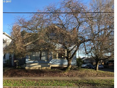 Portland Single Family Home For Sale: 7656 N Mississippi Ave