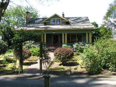 Salem Single Family Home For Sale: 22350 Magness Rd