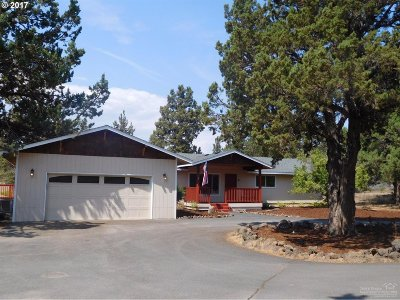 Bend Single Family Home For Sale: 64215 Hunnell Rd