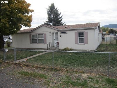 La Grande OR Single Family Home Sold: $132,500