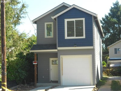 Portland Single Family Home For Sale: 6628 SE 92nd Ave