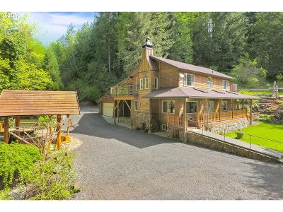 Scappoose Single Family Home For Sale: 30019 Dutch Canyon Rd