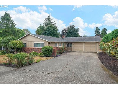 Wilsonville, Canby, Aurora Single Family Home For Sale: 10470 SW Evergreen Dr