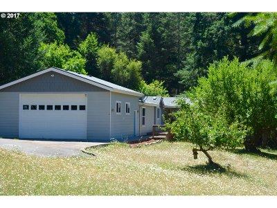 Elmira Single Family Home For Sale: 90266 Sheffler Rd