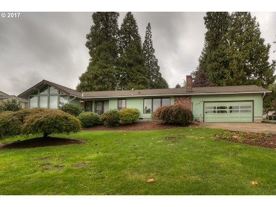 Salem Single Family Home For Sale: 1365 Wallace Rd NW