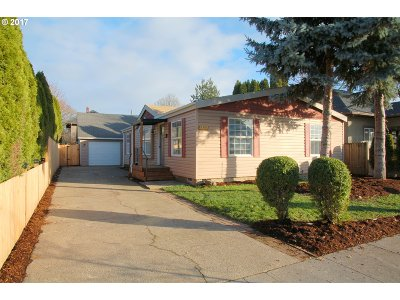 Single Family Home Sold: 4838 SE 70th Ave