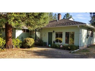 Veneta, Elmira Single Family Home For Sale: 25412 Jeans Rd