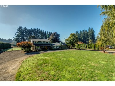 Wilsonville, Canby, Aurora Single Family Home Bumpable Buyer: 15620 NE Eilers Rd