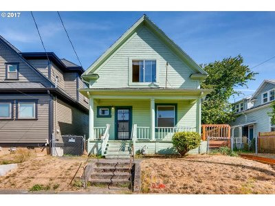 Portland Single Family Home For Sale: 4728 NE Cleveland Ave