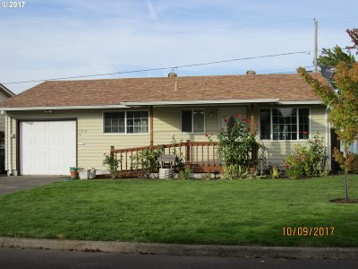 Woodburn Single Family Home For Sale: 1315 Thompson Rd