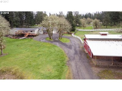 Creswell Single Family Home For Sale: 36128 Enterprise Rd