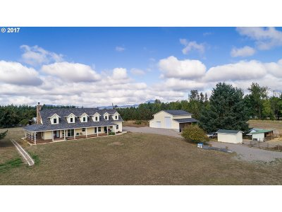 Cottage Grove, Creswell Single Family Home For Sale: 33620 E Harvey Rd