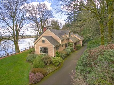 , Portland, West Linn, Lake Oswego Single Family Home For Sale: 11100 SW Riverwood Rd