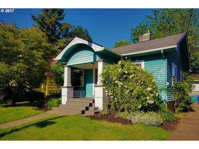 Portland Single Family Home For Sale: 4413 NE 33rd Ave