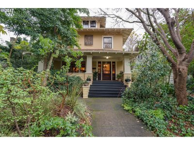 Portland Single Family Home For Sale: 2827 NE 11th Ave
