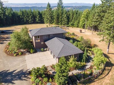 North Plains Single Family Home For Sale: 22415 NW Pumpkin Ridge Rd