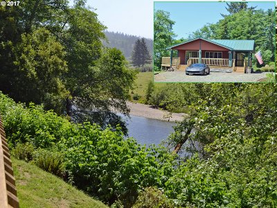 Brookings Single Family Home For Sale: 99388 Winchuck River Rd