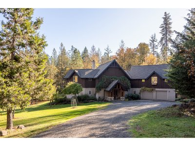 Eugene Single Family Home For Sale: 85051 Spencer Hollow Rd