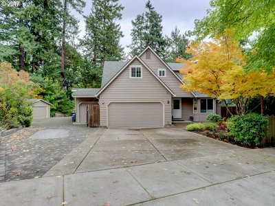 Wilsonville Single Family Home For Sale: 7532 SW Wimbledon Cir