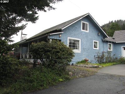Brookings Single Family Home For Sale: 15841 S Hwy 101