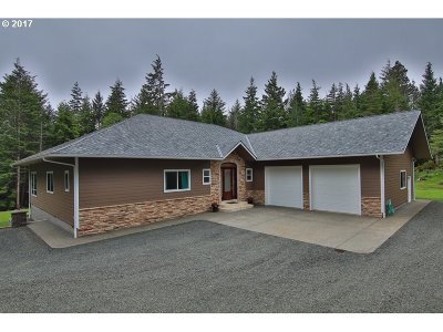 North Bend Single Family Home For Sale: 69149 Sandpoint Rd