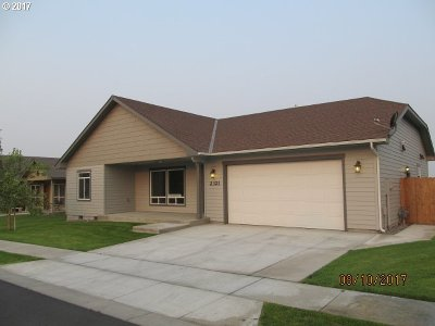 Hermiston Single Family Home For Sale: 2321 NE 8th St