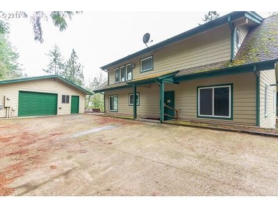 Cowlitz County Single Family Home For Sale: 1714 Mt Brynion Rd