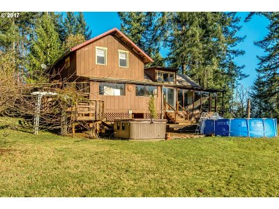 Forest Grove Single Family Home For Sale: 24165 NW Ridge Rd