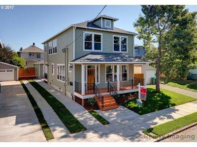 Portland Single Family Home For Sale: 4918 NE 12th Ave