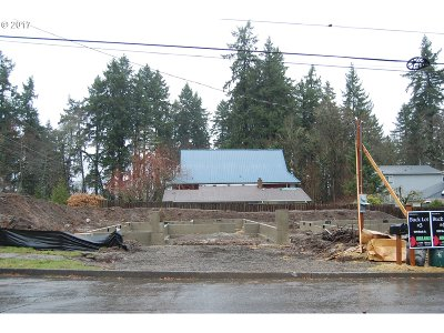 West Linn Single Family Home For Sale: 1599 Buck St #Lot3