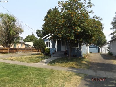 La Grande OR Single Family Home Sold: $138,000