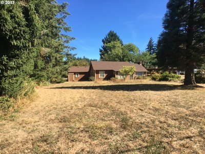 Elmira Single Family Home For Sale: 88921 Territorial Hwy