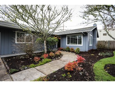 Eugene Single Family Home For Sale: 1605 W 19th Ave