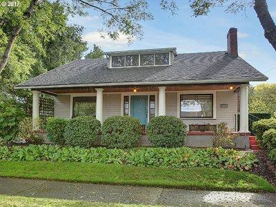 Single Family Home For Sale: 2634 NE Tillamook St