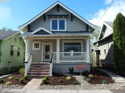 Single Family Home For Sale: 4727 NE 30th Ave