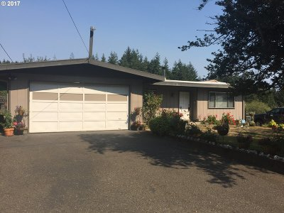 Coos Bay Single Family Home For Sale: 92705 Libby Ln
