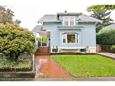 Portland OR Single Family Home For Sale: $529,900