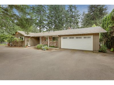 Tigard Single Family Home For Sale: 11560 SW Fonner St