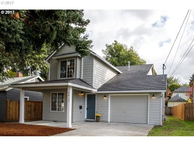 Portland Single Family Home For Sale: 8812 N Endicott Ave