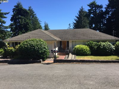 Coos Bay Single Family Home For Sale: 1125 Ingersoll Ave