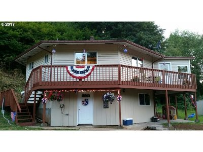 Clatskanie Single Family Home For Sale: 73643 Paradise Valley Rd