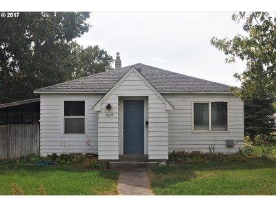 Hermiston Single Family Home For Sale: 604 E Gladys Ave