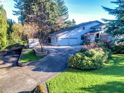 Skamania County, Clark County Single Family Home For Sale: 16722 SE Evergreen Hwy