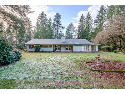 Scio Single Family Home Sold: 40695 Rodgers Mountain Loop
