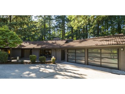 West Hills Single Family Home For Sale: 5005 SW Humphrey Park Rd