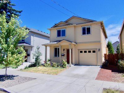 Single Family Home Sold: 6558 SE 63rd Ave