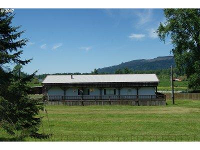 Clatskanie Single Family Home For Sale: 78429 Point Adams Rd